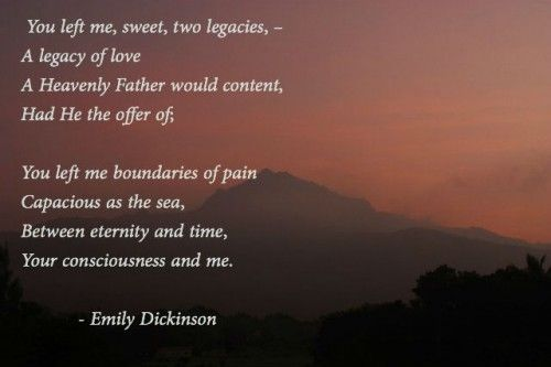 All Poems by Emily Dickinson | Poet Seers » Emily Dickinson Poems On Love