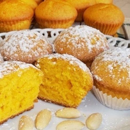 Muffins mit Karotten und Mandeln