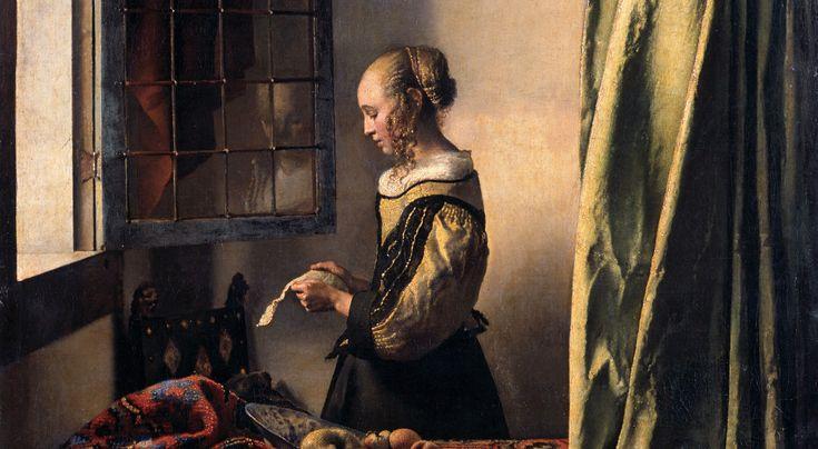"""Tajemnica odbicia """"Czytającej list"""" Vermeera"""