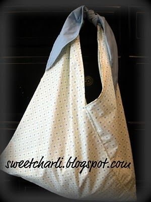A very simple pillow case bag
