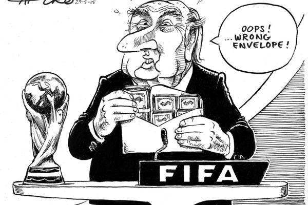 @fifa #YouKillingTheGame #Corruption #FBI #ThingsThatGoBlat #BlatOutOfHell LOL