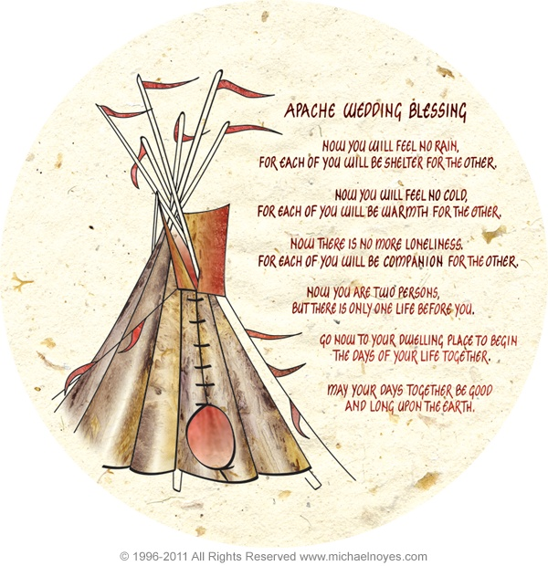 Native American Wedding Gifts: This Blessing, A Justice Of The Peace, And Breakfast At