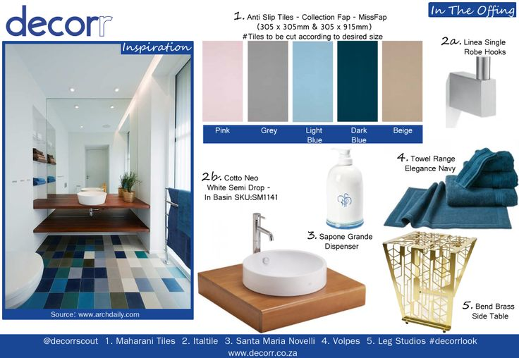 In The Offing - The sea view from the shore. Bring your coastal holiday closer to home -  1. http://www.decorr.co.za/maharani-tiles/ 2. http://www.decorr.co.za/italtile/ 3. http://www.decorr.co.za/leg-studios/ 4. http://www.decorr.co.za/santa-maria-novella-2  5. http://www.decorr.co.za/volpes/