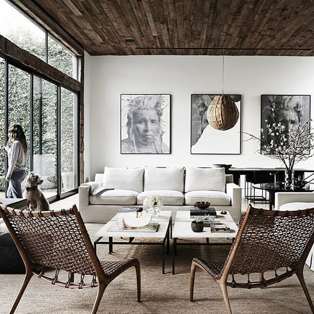White Living Spaces: 21 Best White Trim/ Dark Blinds Images On Pinterest
