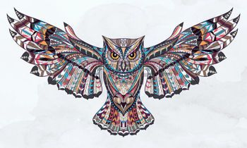 44179468-patterned-owl-on-the-grunge-watercolor-background-african--indian--totem--tattoo-design-it-may-be-us.jpg (350×210)