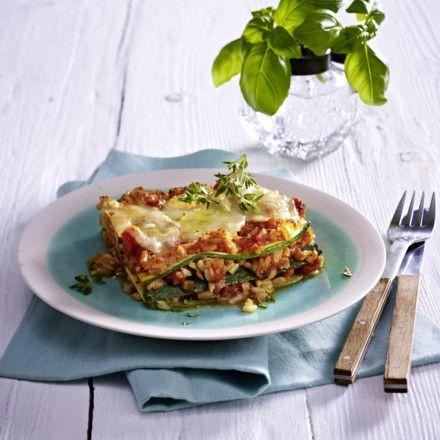 Reis-Lasagne Rezept