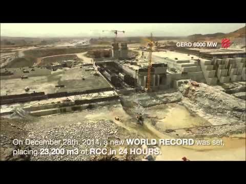 The latest video showing Grand Ethiopian Renaissance Dam - YouTube