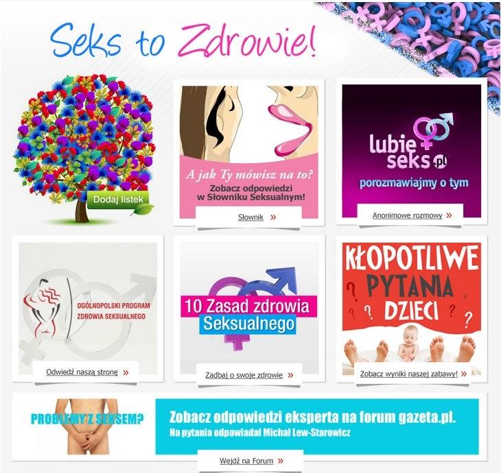 Fan page Seks To Zdrowie (www.facebook.com/sekstozdrowie)