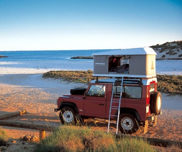 "Check out Lindsey Woodcock's ""Maggiolina Rooftop Tent by Autohome"" decalz @Lockerz"