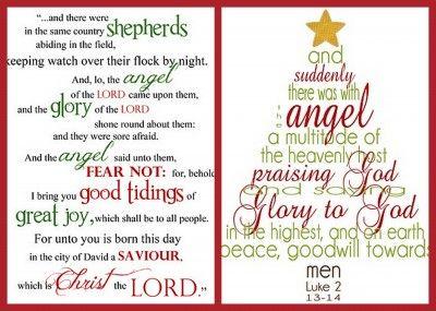 25+ melhores ideias de Christmas scripture no Pinterest | Ideias ...
