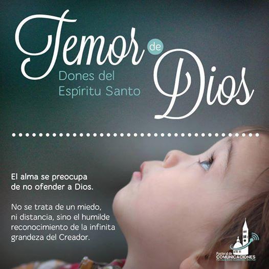 #EspírituSanto dame el don de #temorDeDios