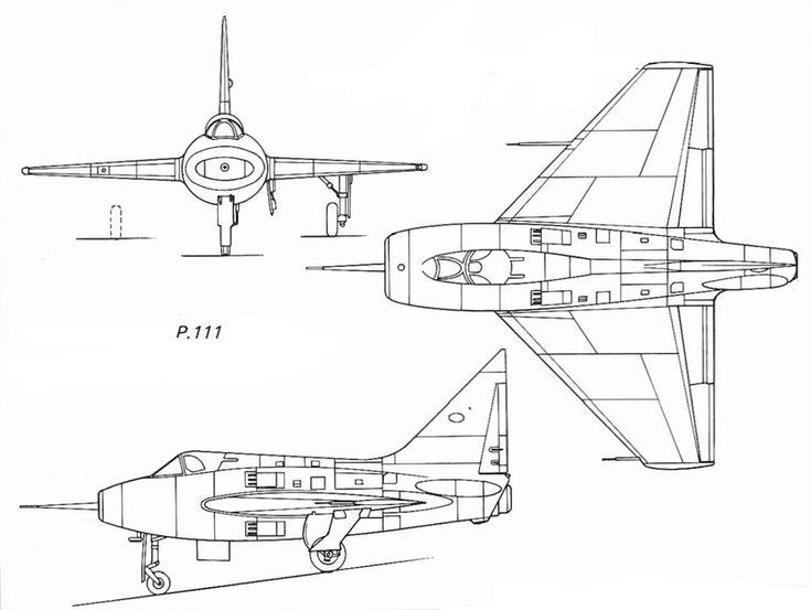 Boulton Paul P.111 (also called Boulton Paul BP.111) (1950