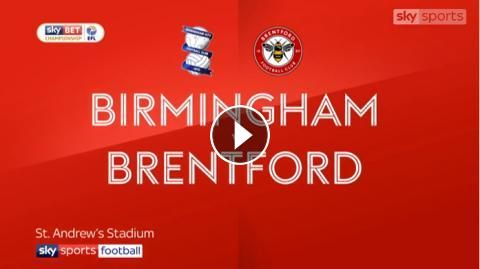 Video: Birmingham City vs Brentford Highlights and Goals Online - Sky Bet Championship - Tuesday 1, November 2017 - FootballVideoHighlights.com. You a...
