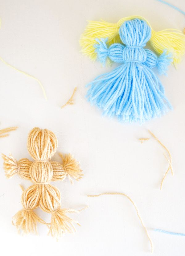 Yarn Dolls | Homan at Home