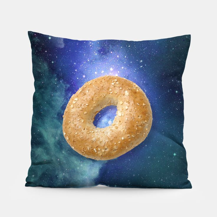 Space Bagel Pillow, Live Heroes