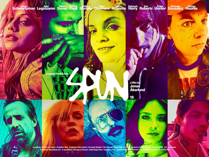 Poster visuals for the UK cinema release of Spun (2002). Just going through an old external drive and found these. Kinda like 'em.