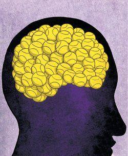 Tennis on the brain!