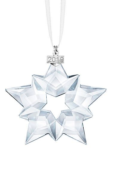 7b1031537 Swarovski Crystal Annual Edition 2019 Christmas Ornament, Star in ...