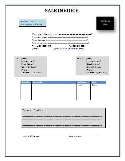 Sales-invoice-template
