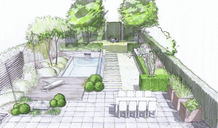 4landscape Landschaftsplane Garten Design Plane Gartendesign Ideen