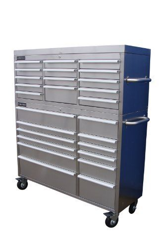 US PRO STAINLESS STEEL TOOL CHEST TOOL BOX WORKBENCH 54 by us pro tools