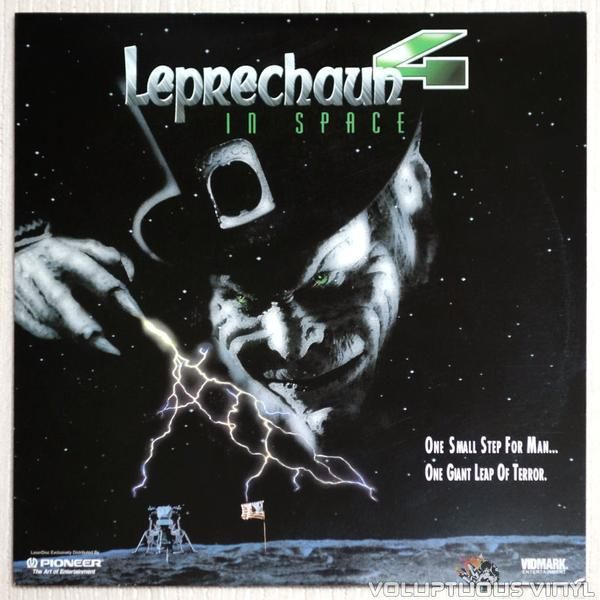Warwick Davis in Part 4 of the Leprechaun horror series.