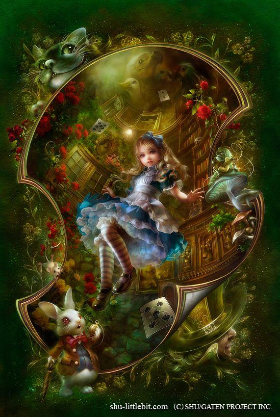 Сказочные Иллюстрации: Сказки - Алиса в Стране Чудес