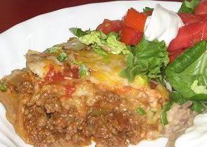 Taco Grande--a family favorite!