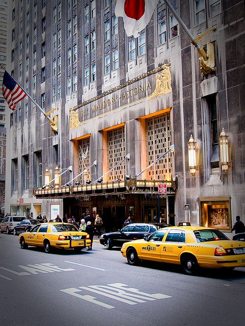 The Waldorf Astoria ~ one of my favorite places to stay when I go back to…