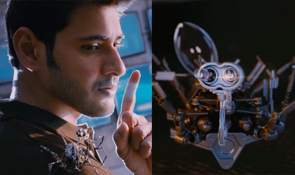 SPYder teaser: Mahesh Babu's hi-tech-spider camera and Harris Jayaraj's BGM steal the show in this promo #FansnStars