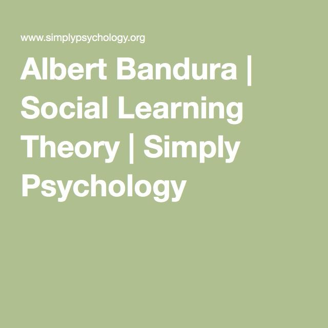 albert bandura research paper