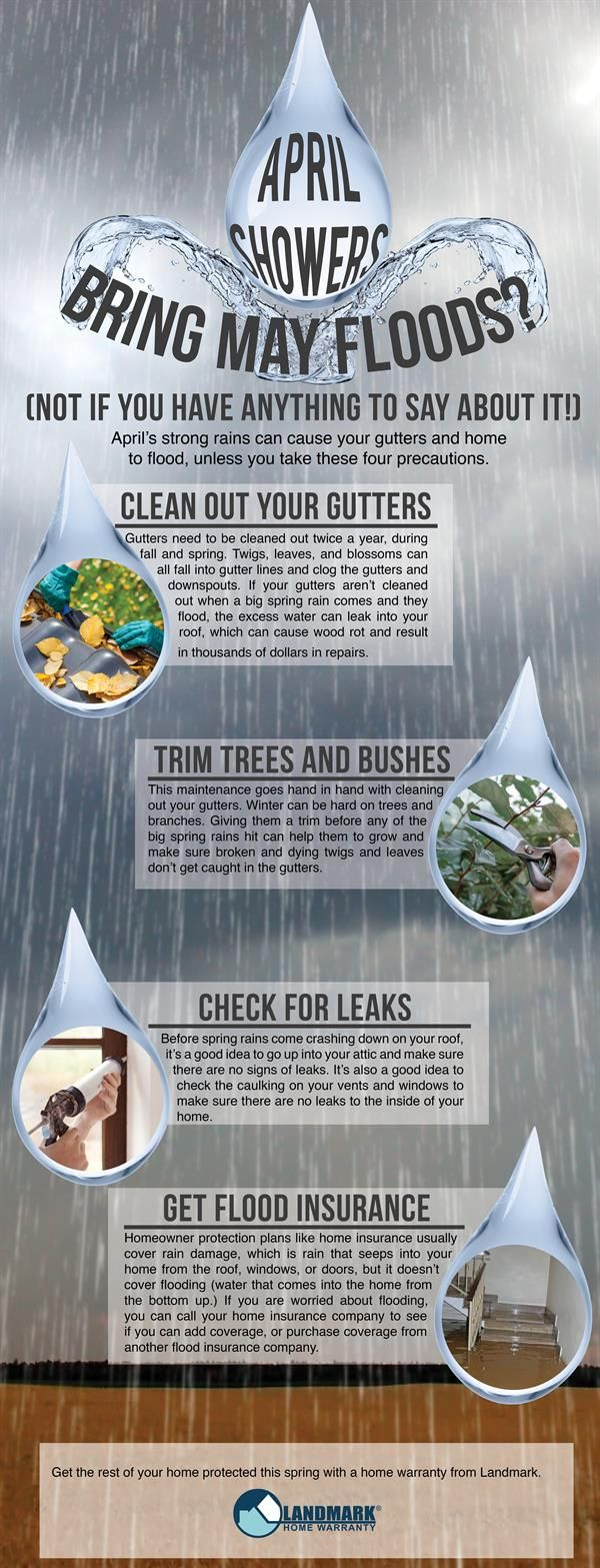 April Showers With A Home Warranty Ideas For The House