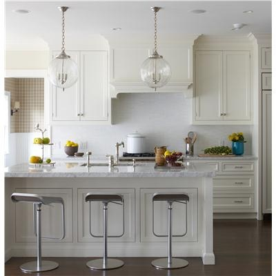 Transitional (Eclectic) Kitchen by Lauren Muse