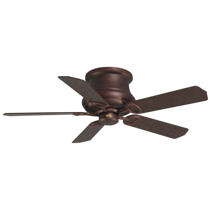 "Concord Fans 60"" Madison Hugger Low Profile Oil Rubbed Bronze Large Ceiling Fan"