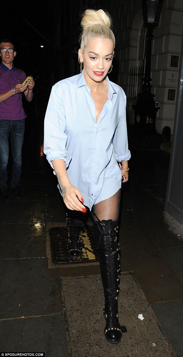 New girl: Rita is certainly making her mark since joining the ITV show's judging panel thi...