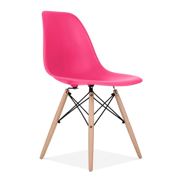 Charles Eames Lipstick Pink DSW Chair