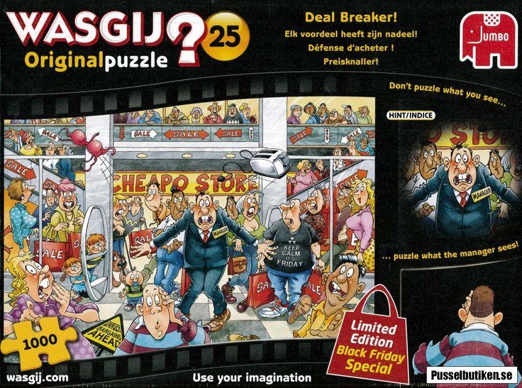 Wasgij? #25: Deal Breaker! (1000) - Pusselbutiken.se
