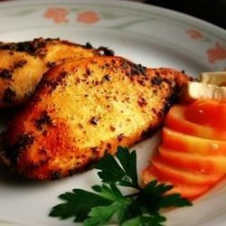 Chicken breasts baked in herb butter emerge succulent and tender. Bake for 25-35 Minutes if using boneless chicken breast.