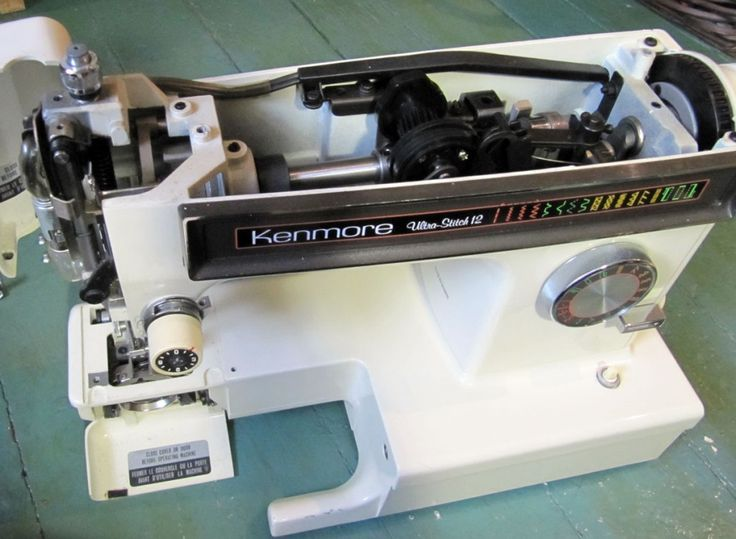 kenmore sewing machine oiling