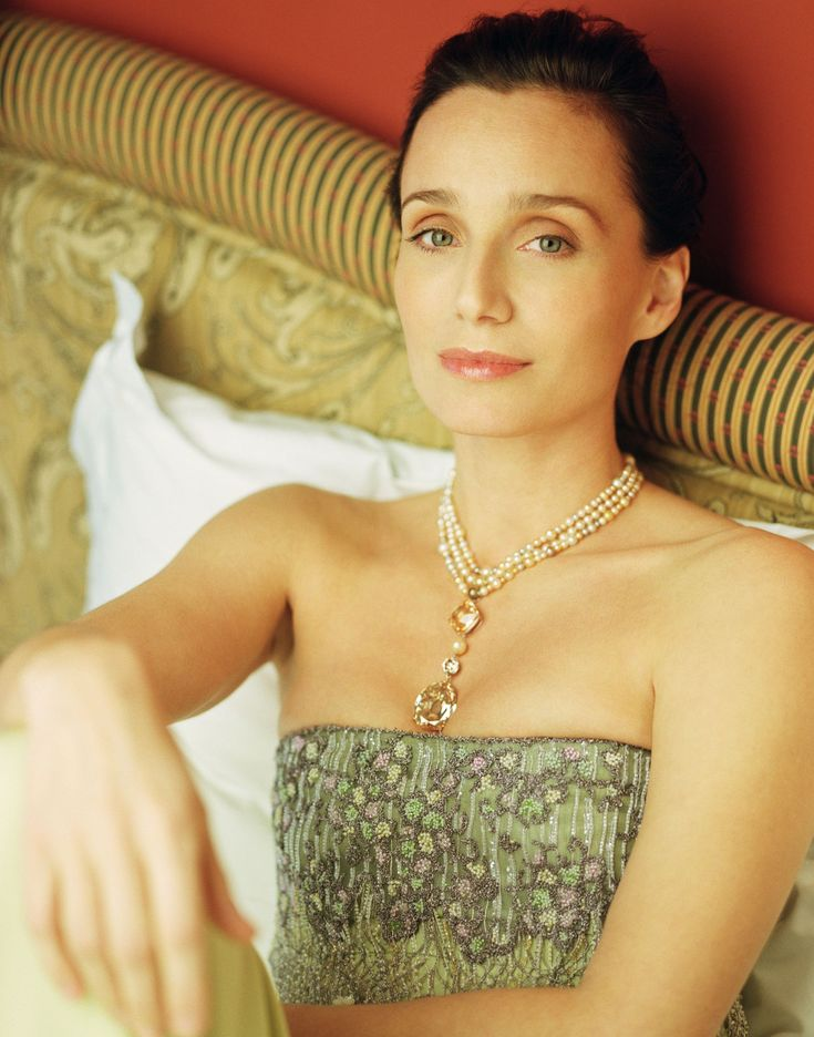 Kristin Scott Thomas as Alette Naylor on Confessions of a Shopaholic