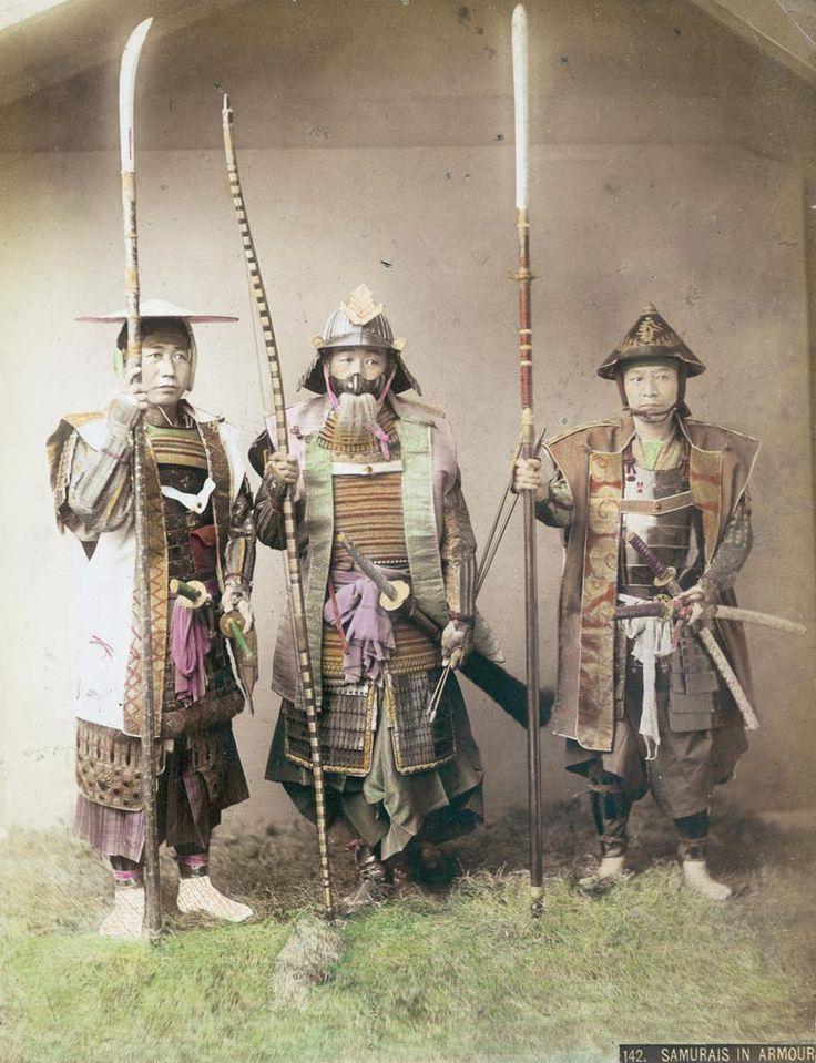 Les derniers Samouraï – Des photos très rares du Japon au 19e siècle