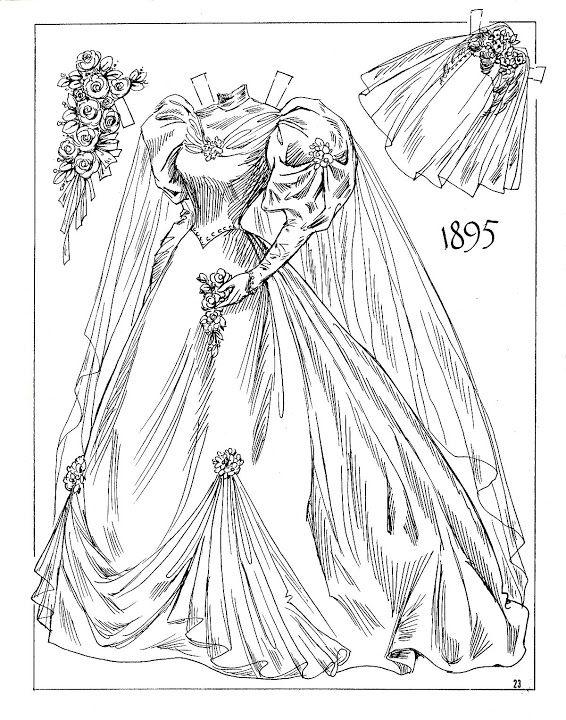 709 best Color Me Paper Dolls images on Pinterest ...