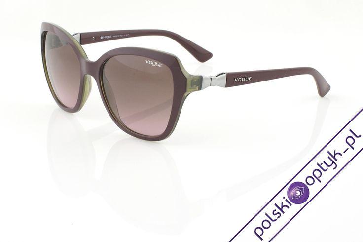 Okulary przeciwsłoneczne damskie Vogue VO 2891S 2231/14 #okulary #glasses #eyewear #eyeglasses #oprawki #vogue