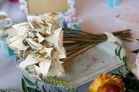 Image result for origami wedding bouquet
