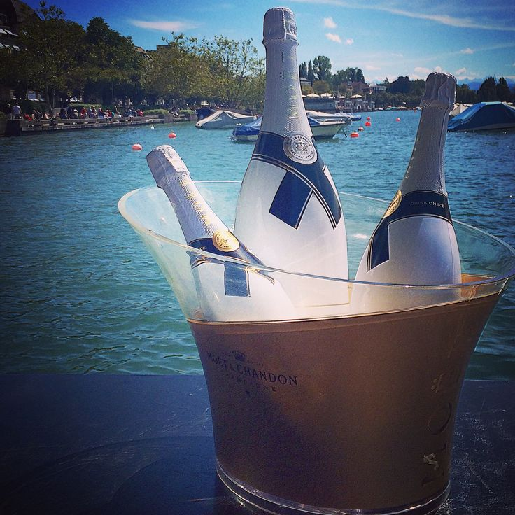 Lake Zürich, Switzerland - #LagoZürich #Moët #SunnySunday #summertime