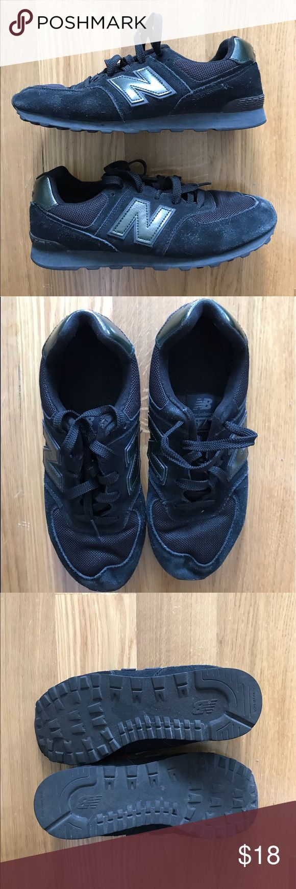 Geek Sneak New Balance All Black New Balance New Balance Shoes Sneakers