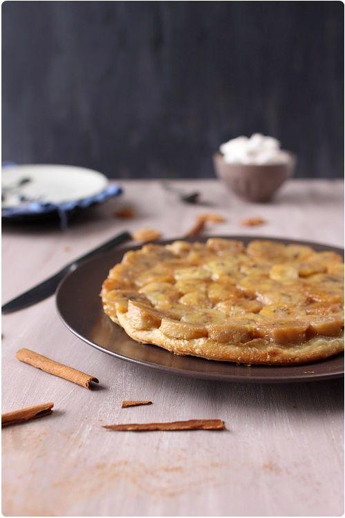 Tatin de bananes, recette excellente et très simple !