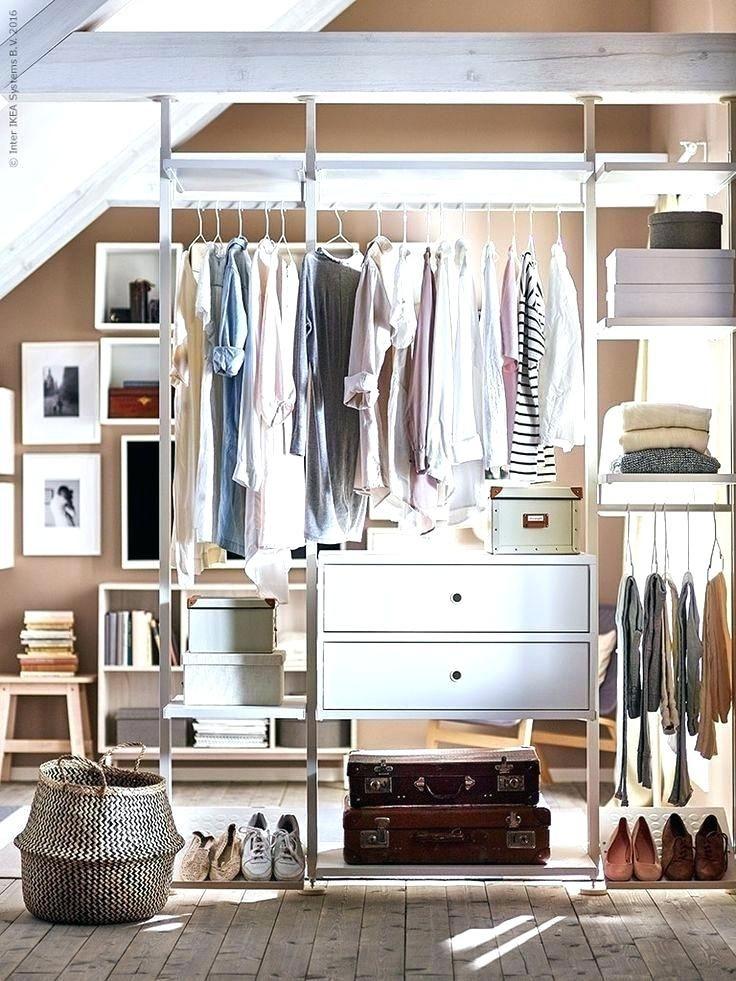 Una cabina armadio low cost con ERVARLI di Ikea   Very ...