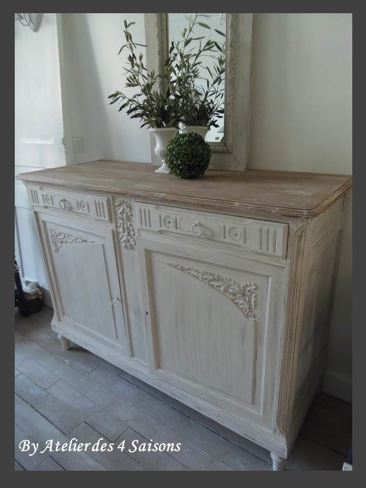 1000 ideas about vintage buffet on pinterest antique - Peinture pour meubles anciens ...
