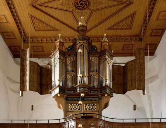 Osteel, Warnfriedkirche, Evers-Orgel
